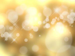 黄色い光の輝き