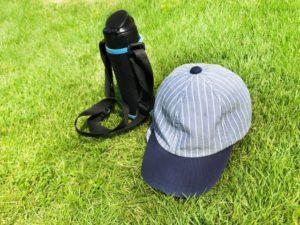 帽子と水筒