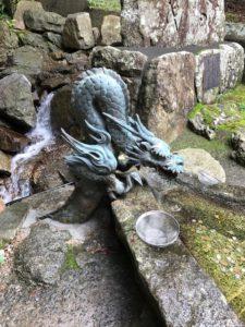 宮城県金華山黄金山神社の銭洗所