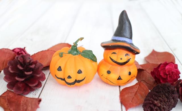 ハロウィンのかぼちゃの小物