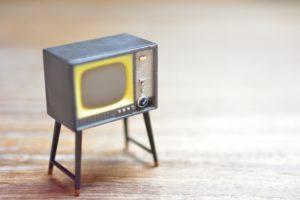 テレビの形の雑貨