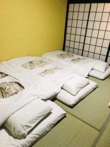 ホテル花巻の布団