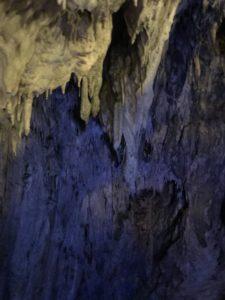 龍泉洞の鍾乳洞